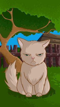 Ознакомьтесь с моим проектом в @Behance: «Cat»…
