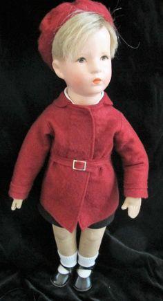 Käthe Kruse  Friedebald30er/40er Jahre, 52cm  Echthaar in Antiquitäten & Kunst, Antikspielzeug, Puppen & Zubehör   eBay!