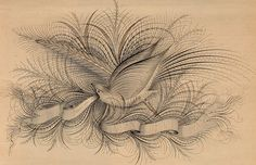 """Image from page 4 of """"Penman's Art Journal and Penman's Gazette"""" University Of Scranton, Photo Engraving, Penmanship, Pen Art, British Library, Book Of Shadows, Book Pages, Flourishes, Journal"""
