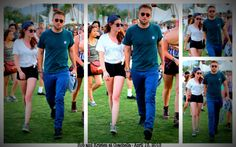 New Pictures of Rob and Kristen at Coachella April 13, 2013
