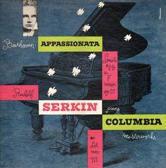Alex Steinweiss LP Cover Design
