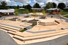 The Target Plaza - Created by California Skateparks