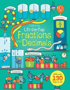 Lift-the-flap fractions and decimals