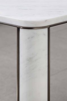 Detail of #gregorio #white #table by #mg12  #tavolo #marble #carrara #diningtable #luxury #furniture
