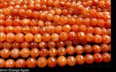 Beads Jewelry & Accessories Steady Fashion Diy 8mm Round Yellow Stone Neon Agat E Agates Beads Approx 50pcs