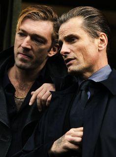Vincent Cassel y Viggo Mortensen