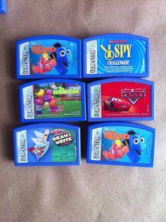 Lot of 6 LeapFrog Leapster 2 Learning Game Cartridges  #LeapFrog