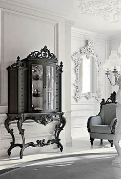 Đồ nội thất cho các khu vực ngày và Venetian sang trọng cổ điển và phong cách Florentine - Andrea Fanfani