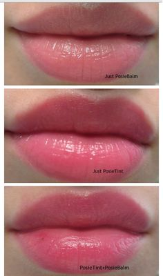 """Benefit says their new Hydrating Tinted Lip Balms will give you """"A perfect pucker! PosieBalm conditions&hydrates with mango butter and . Best Lipstick Color, Lipstick Colors, Lip Colors, Best Lip Stain, Heart Shaped Lips, Mascara, Makeup Looks Tutorial, Tinted Lip Balm, Perfect Lips"""
