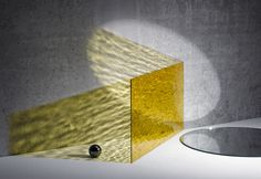 Fantastic reflections caused by Perspex® acrylic's wonderful properties with light. Shadow Photography, Conceptual Photography, Jewelry Photography, Color Photography, Product Photography, Still Life Photographers, Light Installation, Grafik Design, Mellow Yellow