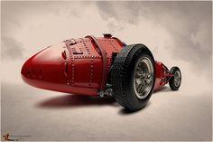 pinterest.com/fra411 #Maserati P250F 1957 by Zuugnap, via Flickr