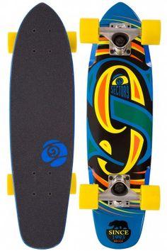 "Sector 9 The Steady 25"" (63,5cm) Cruiser 2014  (blue) | #skatedeluxe #sk8dlx"