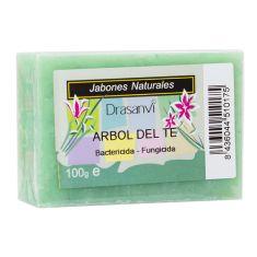El #Jabon #Arbol del #Te de #Drasanvi es bactericida y fungicida, ideal para pieles que presenten infecciones. Descubre más en Viva Nutrición!