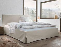 Hochwertiges Bett Pilio Mit Webstoff Bezug | Betten.de