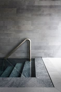 St Vincent's Place by B. Architecture – Sensitivity to Materiality in Design – pool ideas Spa Interior Design, Spa Design, Exterior Design, Design Interiors, Indoor Swimming Pools, Swimming Pool Designs, Lap Pools, Backyard Pools, Pool Decks