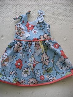 Baby dress - tutorial