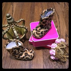 Juicy couture infant cheetah boots Brand new never worn no box 100% authentic. Adorable infant brown & black cheetah juicy couture boots Size: 2c Selling on Mercari $25 free shipping Juicy Couture Other