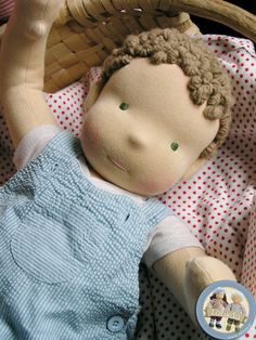 Weighted doll for babywearing consultants by Lalinda.pl