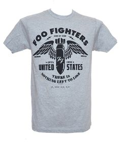 4b9701a39 Foo Fighters - There is Nothing Left to Lose. Brand: Tultex Front Print: