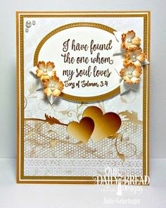 Our Daily Bread Designs Stamp Set: Happily Ever After, Custom Dies: Ovals, Pierced Ovals, Bitty Blossoms, Pierced Rectangles, Paper Collection: Wedding Wishes