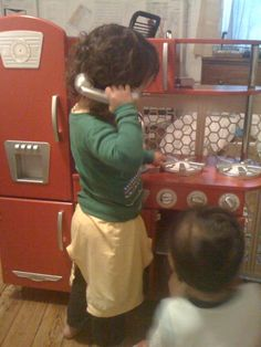 Hello, Grandma? My brother put my lovey in the oven.