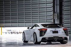 Outfitted by Lexon_Japan with +Vossen Wheels where would you take this Lexus LFA for the weekend? Lexus Gs300, Lexus Lfa, Lexus Cars, Lexus Auto, Toyota For Sale, Chrysler Airflow, Car Goals, Best Classic Cars, Sweet Cars