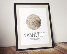Nashville Tennessee Print - Nashville Print - Nashville Gift - Nashville Map Print - State Print by AGierDesign on Etsy https://www.etsy.com/listing/168135960/nashville-tennessee-print-nashville