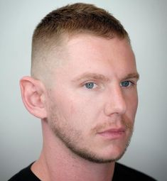 9. High and Tight with Facial Hair