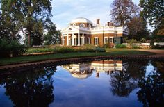 One of my favorite places I've visited...Monticello - Thomas Jefferson's home