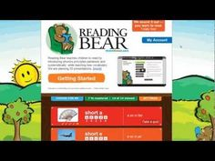Learning to Read with Reading Bear - free phonics tutorial