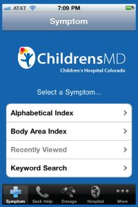 We just added a new Medication and Allergy list, which lets you track important info about your family's prescriptions and over-the-counter medication. Download the iPhone, iPad and iTouch ChildrensMD app now.