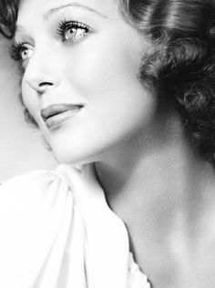 American film and television actress, Loretta Young