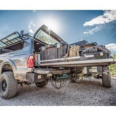 Truck Bedslide - Contractor Edition (1,500 lb Capacity)