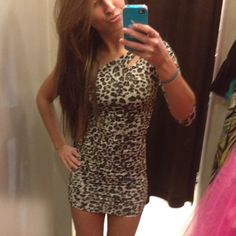 Cheetah dress #hipster #cheetah #fashion