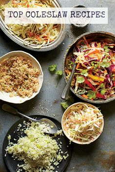 Tart, sweet, creamy, crunchy—there's so much to love when it comes to coleslaw. Enjoy our top 5 coleslaw recipes.