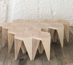 Rayuela stool, design by Alvaro Catalan de Ocon http://catalandeocon.com/. Image via http://madameherve.typepad.com