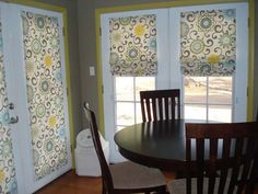 Terrell's step by step how to make Roman shades is so easy!