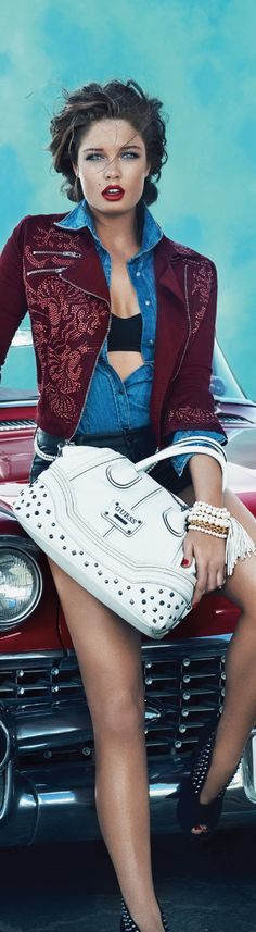 GUESS ACCESSORIES FALL 2013 AD CAMPAIGN