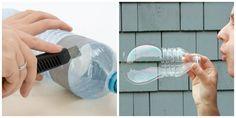 Így készíts fél perc alatt óriásbuborék-fújót + a tökéletes buborékfolyadék receptje