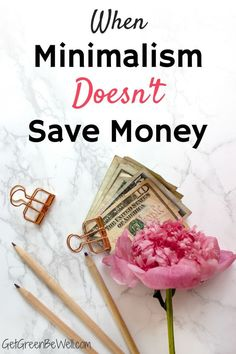 Think minimalism always saves money? You'd be wrong. How I found out that a minimalist lifestyle ended up costing me more money - and what you should think about, too. Make Money Blogging, Saving Money, How To Make Money, Natural Living, Simple Living, Green Living Tips, Natural Parenting, Minimalist Lifestyle, Organization Hacks