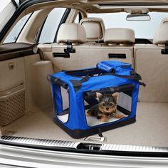 ¿Eres de los que se lleva la mascota a todas partes? Un transportin es una buena opción. Es más limpio ya que no dejara pelo por los asientos y/o maletero. Tu perro o gato estará cómodo durante el viaje, ya que tiene rejillas de ventilación y el suelo es acolchado para mayor comodidad. Es plegable y muy fácil de llevar. Medidas: 70x52x52cm. Puedes comprarlo online en https://www.aosom.es/mascotas/pawhut-transportin-mascotas-azul-70x52x52cm.html con envíos gratis a España y Portugal en…