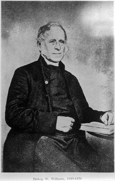 Bishop William Williams Bishop William Williams. Ref: 1/2-022070-G. Alexander Turnbull Library, Wellington, New Zealand. http://natlib.govt.nz/records/23251462