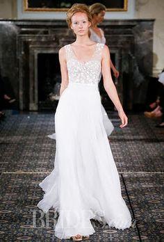 Mira Zwillinger Wedding Dresses Spring 2016 Bridal Runway Shows Brides.com   Wedding Dresses Style   Brides.com