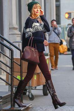 Taylor Swift's best street style moments—November 13, 2014