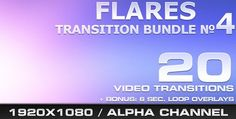 VideoHive - Flares Transition Bundle - 4