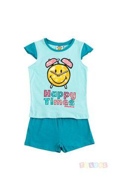 Pyjama Fille Smiley World Happy Times | http://www.toluki.com/prod.php?id=380 #Toluki #enfant