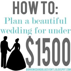 Tips + Tricks on how to plan your dream wedding for amazingly cheap. It involves hot dogs and DIY pin wheels - but it's beautiful!