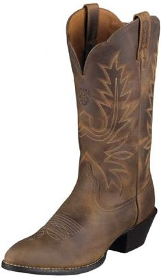 Country Supplies   Ariat Western Boots - Heritage R Toe - Ladies   Ariat Apparel