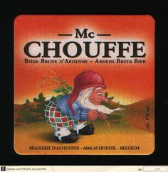 Brasserie Achouffe beverage coaster