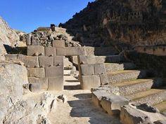 Inca ruins at Ollantaytambo, near Machu Picchu, Peru